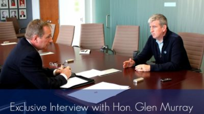 Exclusive Interview with Ontario Minister of the Environment and Climate Change, Glenn Murray