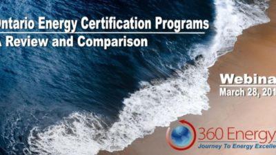 Certification in Canada Webinar Replay