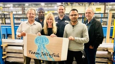 TEAM JELLYFISH LEADS CONSERVATION EFFORTS