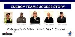 Samuel Energy Team Achieves Success