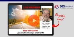 WEBINAR: Zero Emissions: Lessons from Europe and the UK