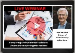 WEBINAR: Sustainability Reporting Frameworks with Bob Willard